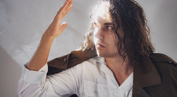 """Kevin Morby photographed for his upcoming fifth record """"Oh My God."""""""
