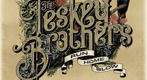 The Teskey Brothers - Run Home Slow - Album Art