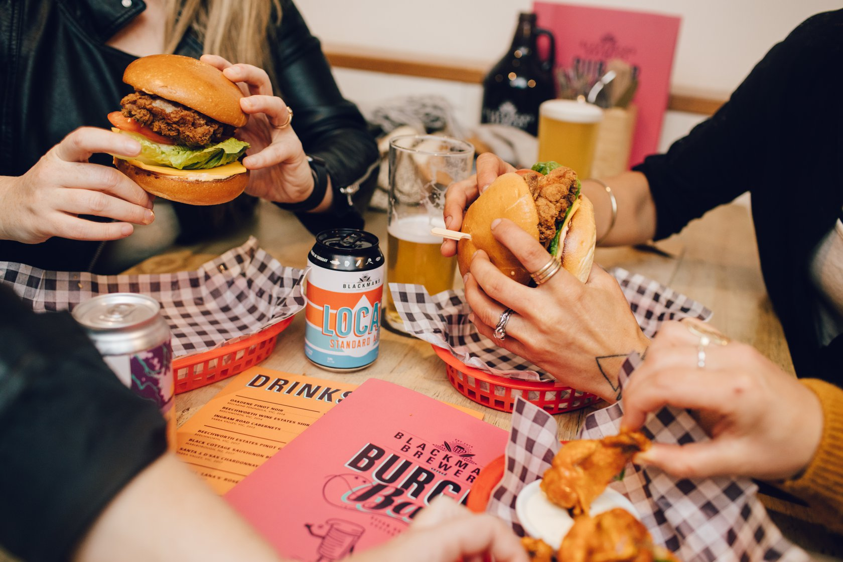 Get On The Beers With These Epic Burger And Bottomless Beer Sunday Sessions